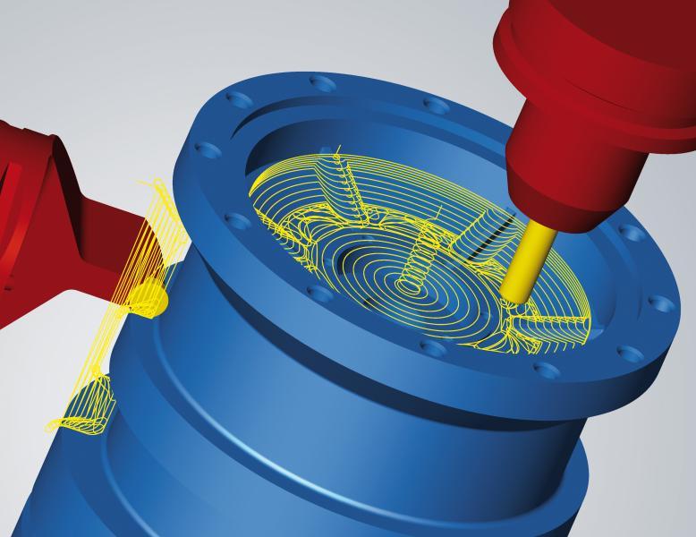 hyperMILL® MAXX Machining – hochperformante CAM-Strategien für das Fräsen und Drehen