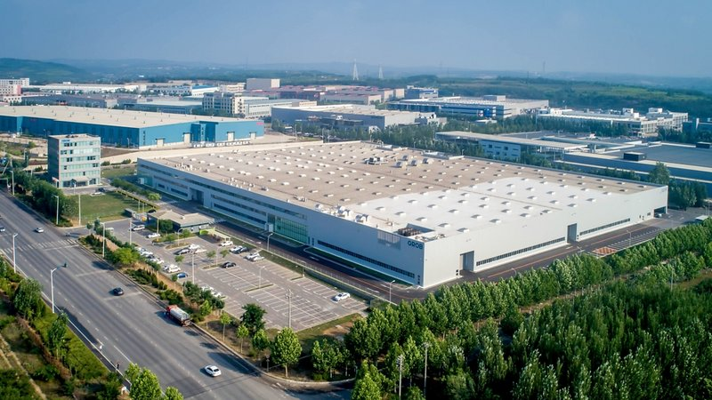 China plant in Dalian expanded by another 6,700 m²