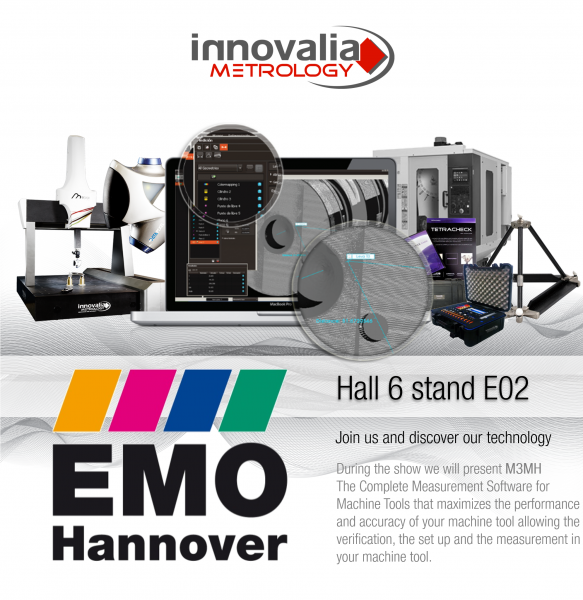 Innovalia Metrology presents its metrology solutions for the first time in the EMO.