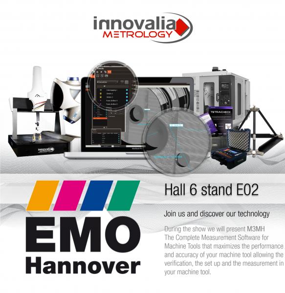 Innovalia Metrology presenta sus soluciones de metrología por primera vez en la EMO.