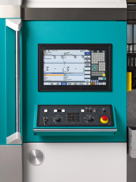 The INDEX ABC65 with Siemens 840D sl control INDEX innovation: Modern user convenience with touch operation for rapid, easy and practical operation.