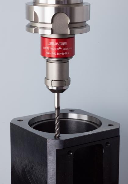 Schneller Werkzeugwechsel auf Knopfdruck