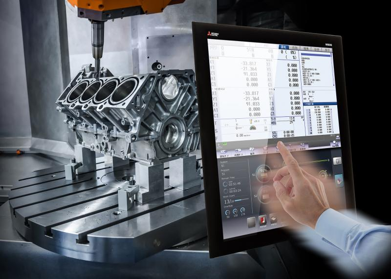 The predictive maintenance solution for machine tools from Mitsubishi Electric and Lenord + Bauer allows operators to schedule in servicing or replacement as they will receive an early condition based indication of the equipment.