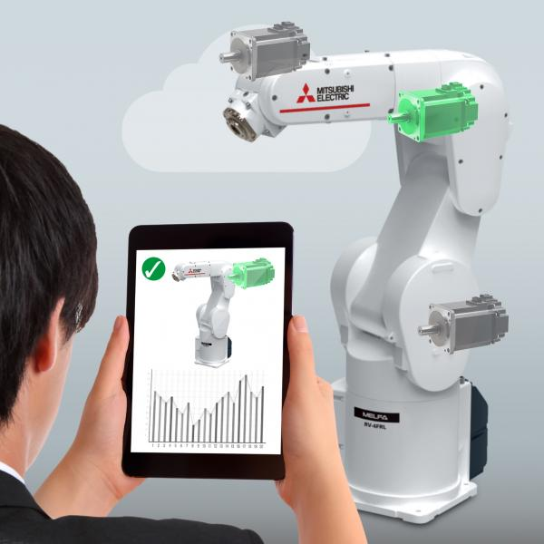 Maintenance regimes for robots and other equipment such as machine tools can be optimised by using the cloud-based predictive maintenance solution developed by Mitsubishi Electric that uses the AI platform within IBM Watson.