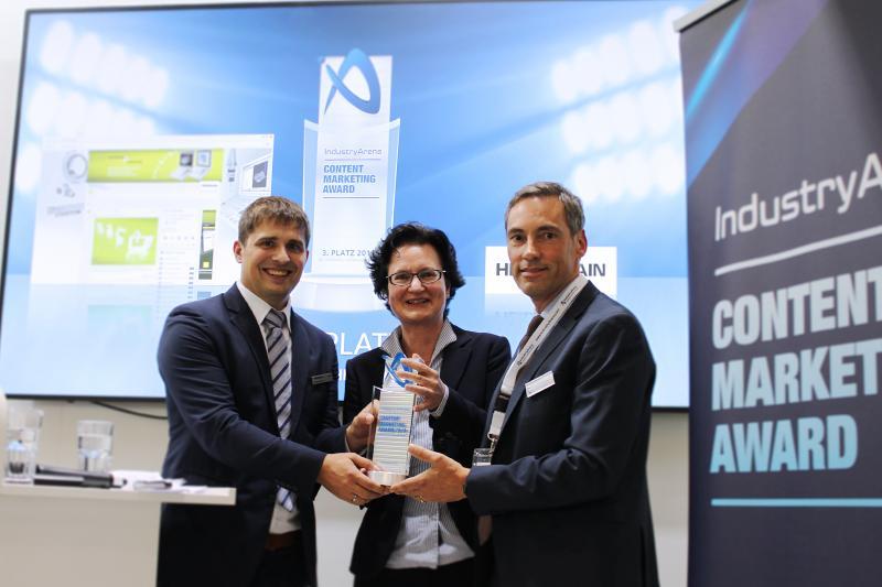 Den Preis haben Florian Bauer und Claudia Fernus entgegengenommen
