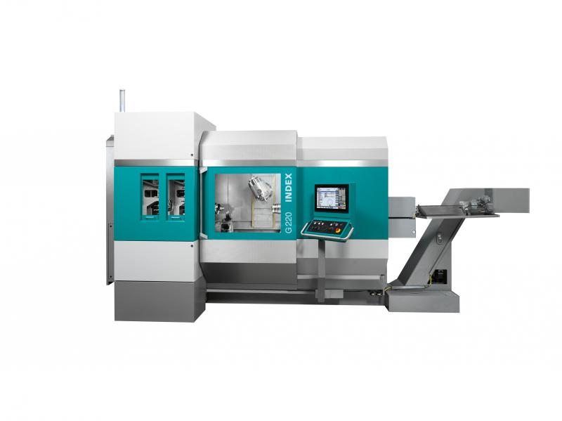 The new G-Generation. Turn-Mill Center INDEX G220