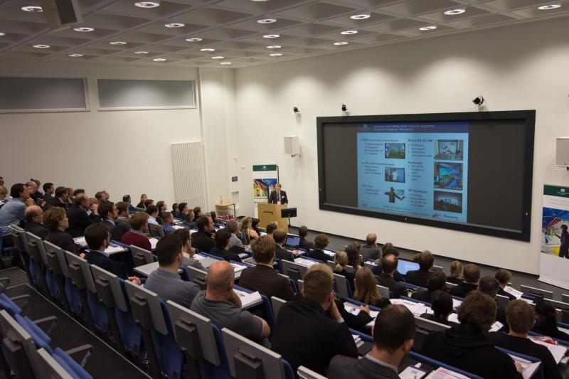 """Rund 100 Gäste waren der Einladung zur VAR²-Konferenz 2017 gefolgt, um ihre """"Realität zu erweitern""""."""