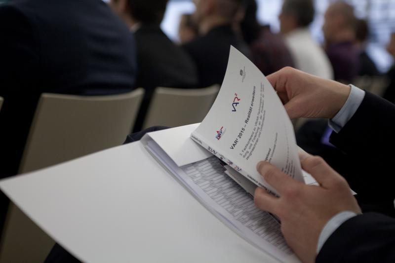 Wissenschaftlicher Austausch und Best-Practice-Beispiele wechseln sich im Programm der VAR²-Konferenz ab.