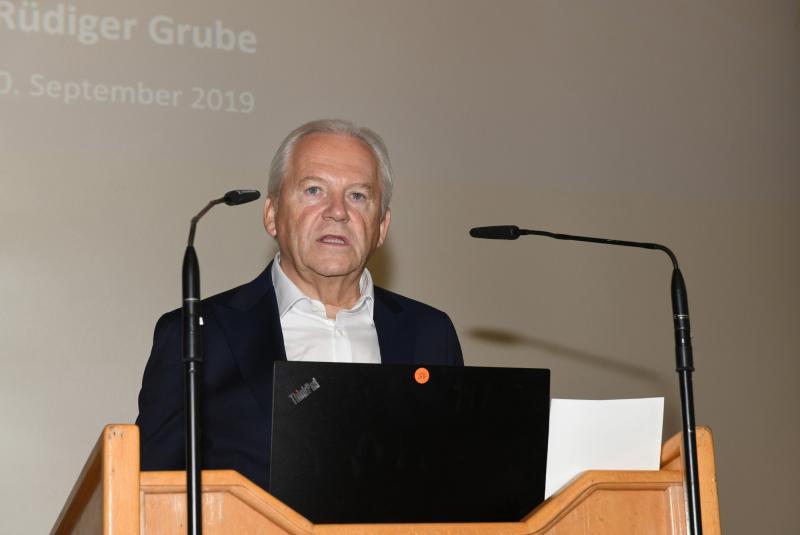 WGP-Jahreskongress Prof. Rüdiger Grube, ehemaliger DB-Vorstandsvorsitzender