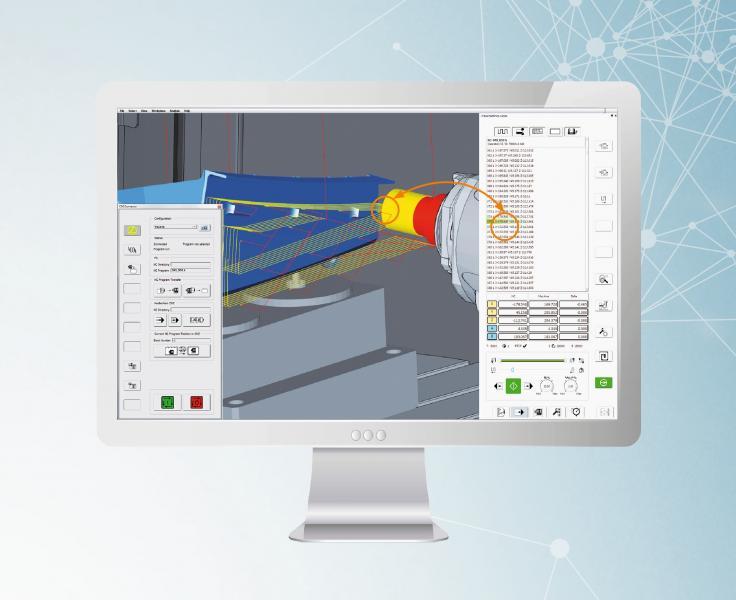 hyperMILL® VIRTUAL Machining: der Optimizer analysiert komplette Bearbeitungsfolgen und berücksichtigt Achsenlimitationen.