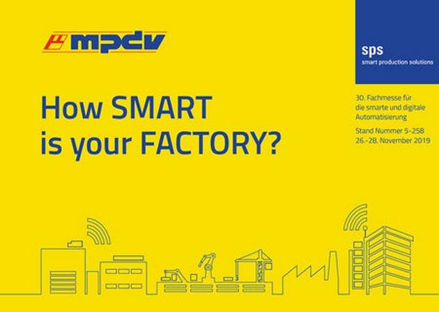 MPDV gibt Ausblick auf die SPS - Smart Factory meets Smart Logistics