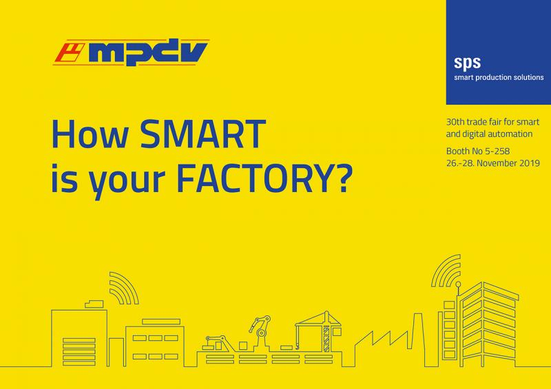 MPDV gives outlook on the SPS - Smart Factory meets Smart Logistics