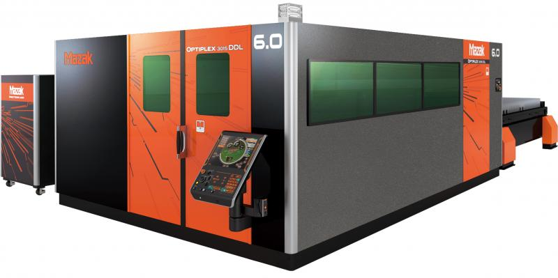 Yamazaki Mazak displayed a combination of its latest state-of-the-art laser processing machines and automation capabilities, including the OPTIPLEX 3015 DDL 6.0 kW (pictured) at the Blechexpo trade fair, on the 5th - 8th November at the Landesmesse, Stuttgart.