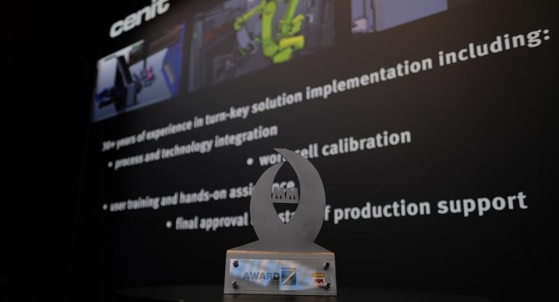 """Im Rahmen der internationalen Fachmessen für Blechbearbeitung """"Blechexpo"""" und Fügetechnologie """"Schweisstec"""" erhielt CENIT den """"Award zur Blechexpo 2019"""". Prämiert wurde die Software FASTSUITE Edition 2, die in der Kategorie """"Handhabung und Automatisierung"""" überzeugt hat."""