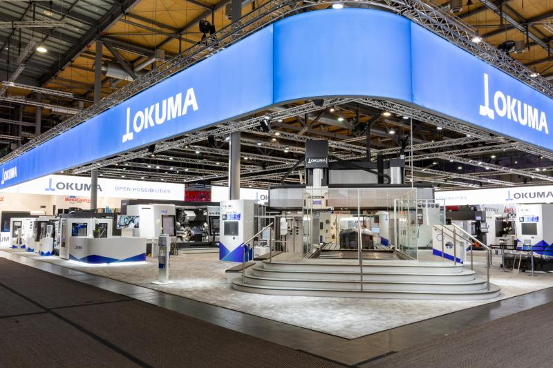 Novelties in automation, digitalisation and machining  With 13 European premieres and a booth of roughly 1.500 m², Okuma displayed a rich portfolio of new technologies at this year's EMO Hannover. Visitors got to experience the latest machine tools, controls, automation technology and industry 4.0 solutions. Definite crowd-pullers were...