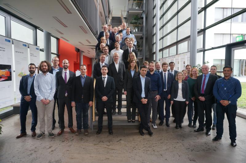 Gruppenfoto Teilnehmer des 3. Konsortialtreffens in Hannover