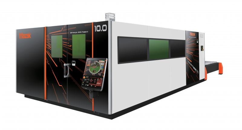 Yamazaki Mazak has extended the power output of its most popular laser processing machines to 10.0 kW – with the introduction of the OPTIPLEX 3015 FIBER III 10.0 kW at Blechexpo 2019.