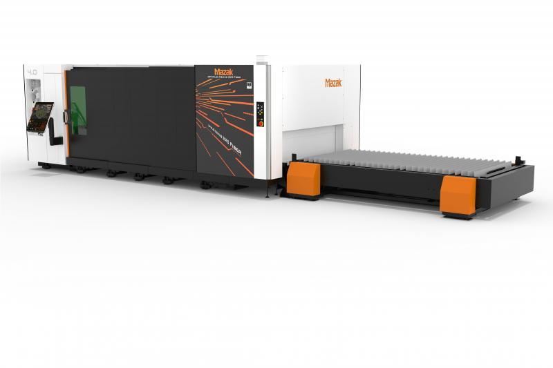 Der Einstieg ins Laserschneiden ist leicht gemacht mit der OPTIPLEX NEXUS 3015 Fiber aus dem Hause Mazak