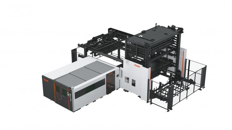 Gesteigerte Maschinenauslastung und verkürzte Durchlaufzeiten beim Laserschneiden dank Mazak Automationssystemen