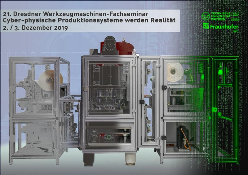 Das 21. Dresdner Werkzeugmaschinen-Fachseminar widmet sich den entscheidenden Schlüsselworten Flexibilität, Adaptivität, Wandlungsfähigkeit und deren technischer Umsetzung in den Produktionshallen und Forschungszentren. Wir laden Sie herzlich ein, sich bei uns am 2. und 3. Dezember 2019 über technische Lösungen der Industrie und zukunftsweisende Ideen aus der angewandten Forschung zu informieren.
