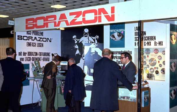50 Jahre Borazon™ – CBN-Schleifscheiben … und wieder ein Jubiläum des Pioniers LACH DIAMANT
