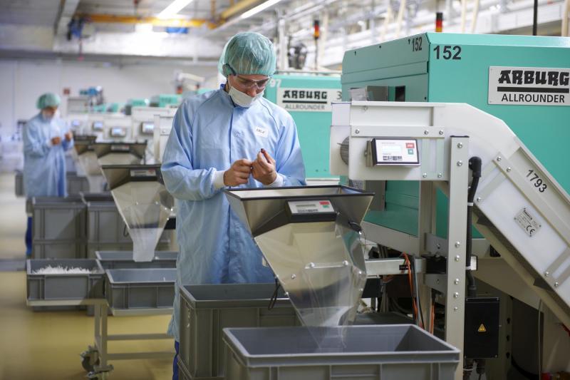 Die Digitalisierung der Fertigung von Sulzer wird mit Hilfe des MES HYDRA vorangetrieben