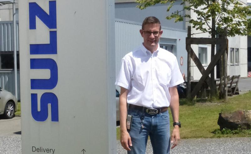 Ronny Graf, Injection-Molding Department Manager at the Haag production site in Switzerland Haag