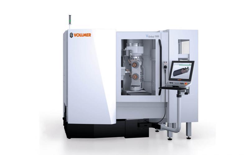 Mehr Schwung für die VOLLMER Schleifmaschine VGrind Zwei neue Features zur Produktivitätssteigerung