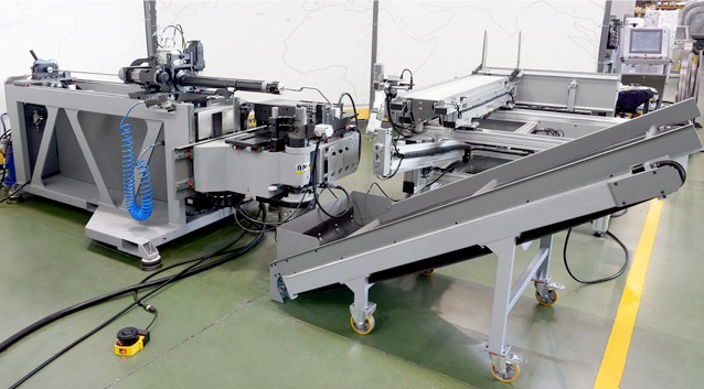 The automotive industry is crucial for Europe's prosperity. The sector provides jobs for 12 million people and accounts for 4% of the EU's GDP. To strengthen the competitiveness one of the major automotive companie from Europe based in Spain choose our Fully Electric CNC Tube Bending Machine eMOB32 LR to improve their production line.