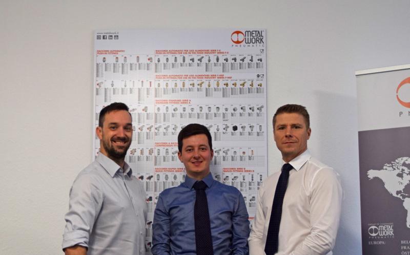 Am Standort werden Sie von Florian Ulrich, Marco Ziegler und Markus Eichenmüller (von links nach rechts) betreut.