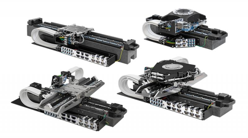 ETEL extends its stacked platform family by adding a new standard stroke to the existing platforms as well as new configurations with X, XT, XZ3TM and XYZ3TM.