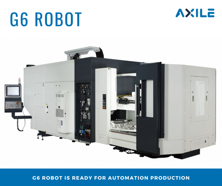 AXILE G6 Robot – Get ready for automation production