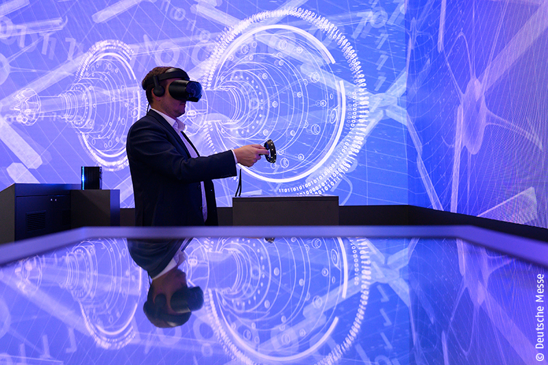 Trade fairs today: Exhibitors offer real experiences supported by virtual reality
