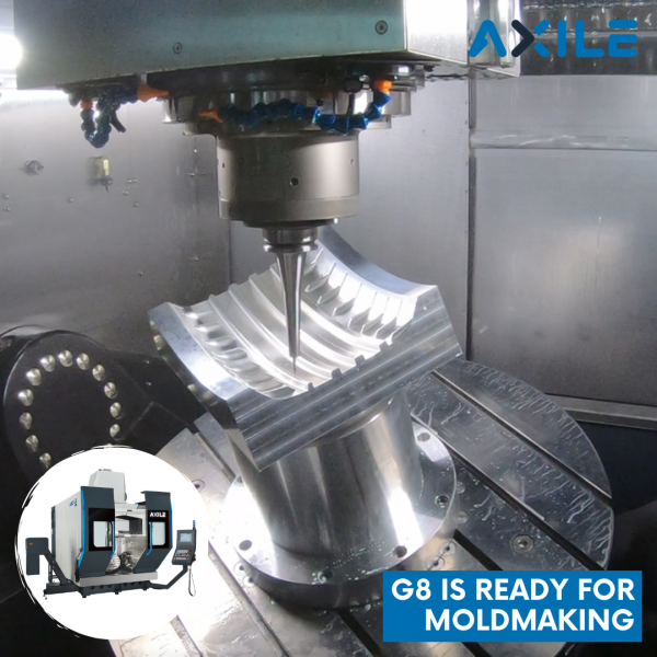 Use AXILE G8 for Moldmaking
