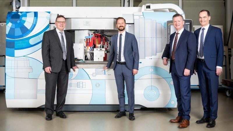 Stephan Stoll (COO), Sandro Bottazzo (CSO), Daniel Huber (CTO) und Jens Bleher (CEO)