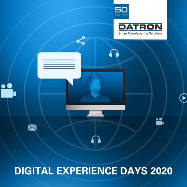 DATRON Digital Experience Days 2020