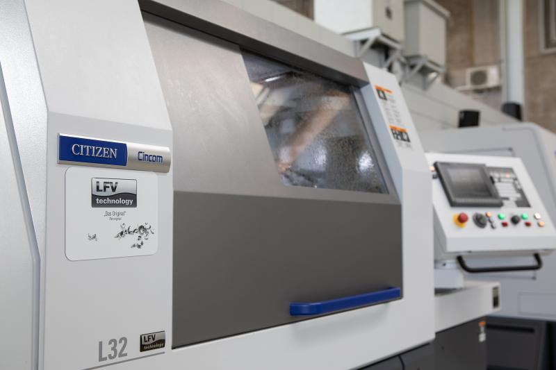 Unter anderem ist nun auch die bewährte Cincom L12 mit der LFV-Technologie erhältlich.