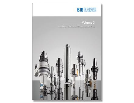 BIG KAISER's Werkzeuglösungen im neuen Katalog