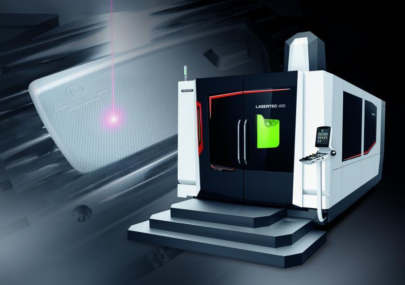 Weltpremiere: LASERTEC 400 Shape - Die schnellste Lasertexturiermaschine für XXL-Formen