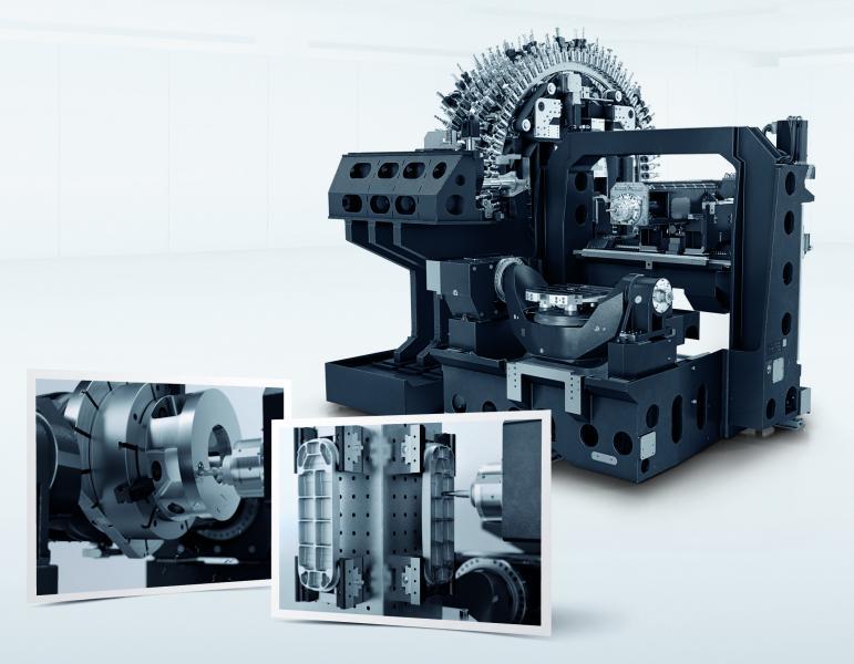 The revolution in universal horizontal machining