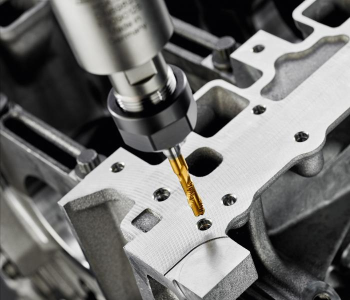 The Punch Tap technology enables internal thread production in a quarter of the time.