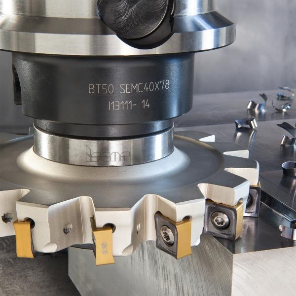 Starke Werkzeuge von ISCAR für die Großteile-Fertigung