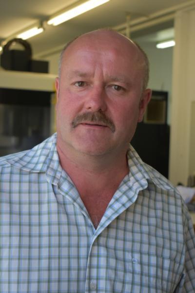 Reinhard Müller, Geschäftsführer der Müller-Mechanik Flugantriebssysteme und CNC-Dreh- und Fräsbearbeitung
