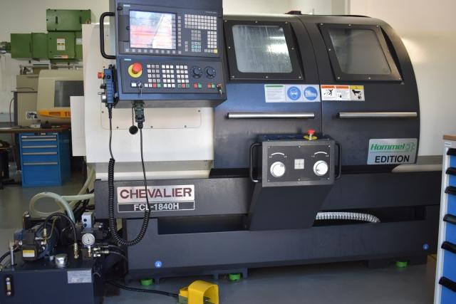 Chevalier-Maschinen mit einem ,H' am Ende der Typenbezeichnung werden ausschließlich für Hommel-Kunden konzipiert und gebaut.