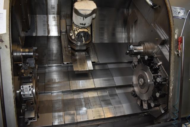 Die Nakamura Frässpindelmaschine STW gehört bei heimatec immer noch zu den produktivsten Fertigungsmitteln.