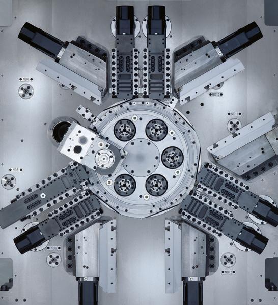 CNC-Mehrspindler als Ersatz für die Kurve