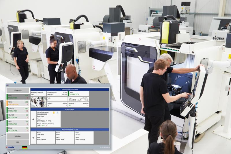 Transparency is a decisive success factor in manufacturing. HYDRA Operating Data (BDE) makes a decisive contribution to this.