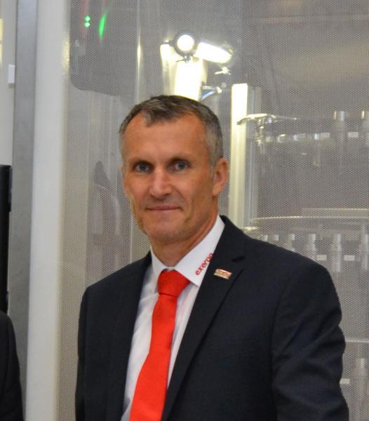 Udo Baur, Vertriebsleiter Deutschland und Europa bei der Exeron GmbH, Oberndorf am Neckar.