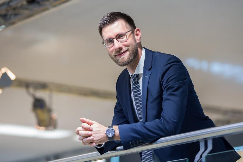 Christian Thiele, Pressesprecher der Hartmetall-Werkzeugfabrik Paul Horn GmbH, Tübingen.