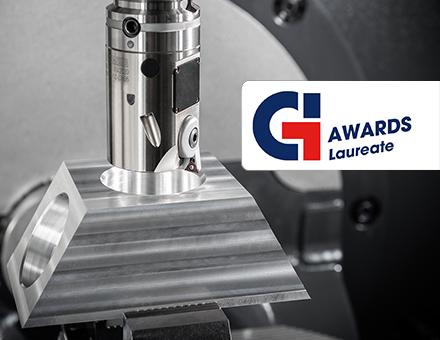 BIG KAISER hat für das vollautomatische Feinbohrwerkzeug EWA den Global Industrie Award 2020 in der Kategorie